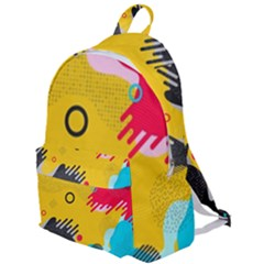Abstract Colorful Pattern Shape Design Background The Plain Backpack by Vaneshart