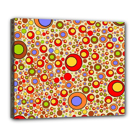 Zappwaits Pop Deluxe Canvas 24  X 20  (stretched) by zappwaits