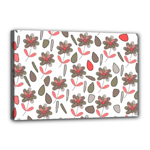 Zappwaits Flowers Canvas 18  X 12  (stretched) by zappwaits