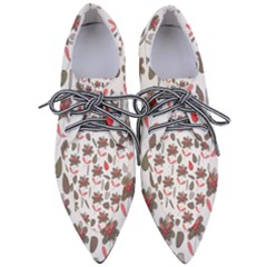 Zappwaits Flowers Women s Pointed Oxford Shoes by zappwaits
