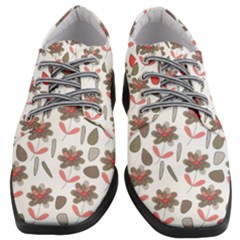 Zappwaits Flowers Women Heeled Oxford Shoes by zappwaits