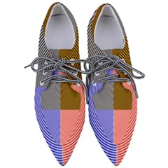 Circles Women s Pointed Oxford Shoes by impacteesstreetweareight