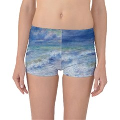 Seascape By Pierre-auguste Renoir Fine Art Boyleg Bikini Bottoms by ArtMuseum