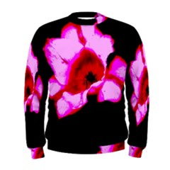 Pink And Red Tulip Men s Sweatshirt