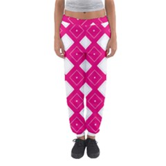 Backgrounds Pink Women s Jogger Sweatpants