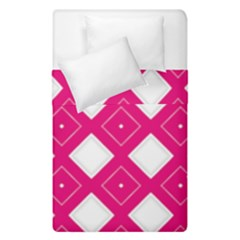 Backgrounds Pink Duvet Cover Double Side (single Size)