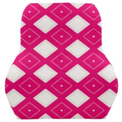 Backgrounds Pink Car Seat Back Cushion