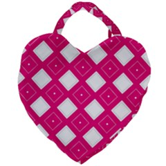 Backgrounds Pink Giant Heart Shaped Tote