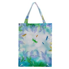 Scrapbooking Tropical Pattern Classic Tote Bag