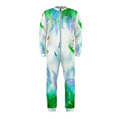 Scrapbooking Tropical Pattern OnePiece Jumpsuit (Kids)