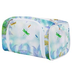 Scrapbooking Tropical Pattern Toiletries Pouch