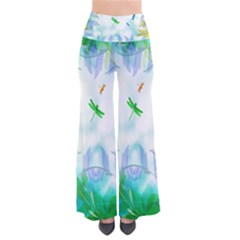 Scrapbooking Tropical Pattern So Vintage Palazzo Pants