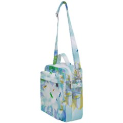 Scrapbooking Tropical Pattern Crossbody Day Bag