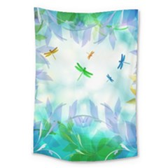 Scrapbooking Tropical Pattern Large Tapestry