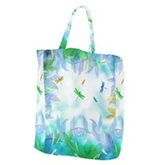 Scrapbooking Tropical Pattern Giant Grocery Tote