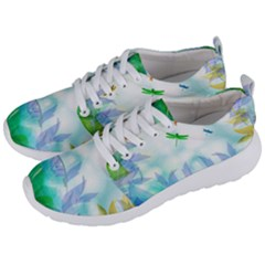 Scrapbooking Tropical Pattern Men s Lightweight Sports Shoes