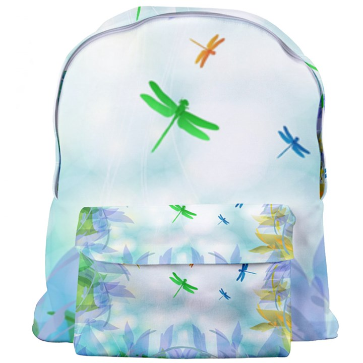 Scrapbooking Tropical Pattern Giant Full Print Backpack