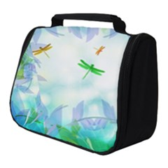 Scrapbooking Tropical Pattern Full Print Travel Pouch (Small)