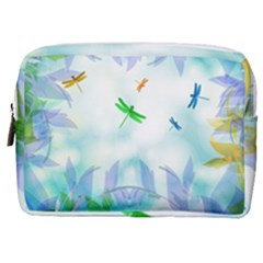 Scrapbooking Tropical Pattern Make Up Pouch (Medium)