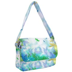 Scrapbooking Tropical Pattern Courier Bag