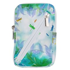 Scrapbooking Tropical Pattern Belt Pouch Bag (Small)