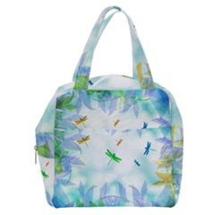 Scrapbooking Tropical Pattern Boxy Hand Bag