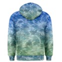 Water Blue Transparent Crystal Men s Pullover Hoodie View2