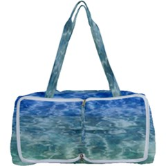 Water Blue Transparent Crystal Multi Function Bag by HermanTelo