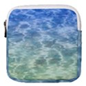 Water Blue Transparent Crystal Mini Square Pouch View1