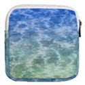 Water Blue Transparent Crystal Mini Square Pouch View2