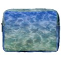 Water Blue Transparent Crystal Make Up Pouch (Large) View1