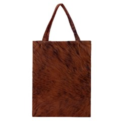 Fur Skin Bear Classic Tote Bag