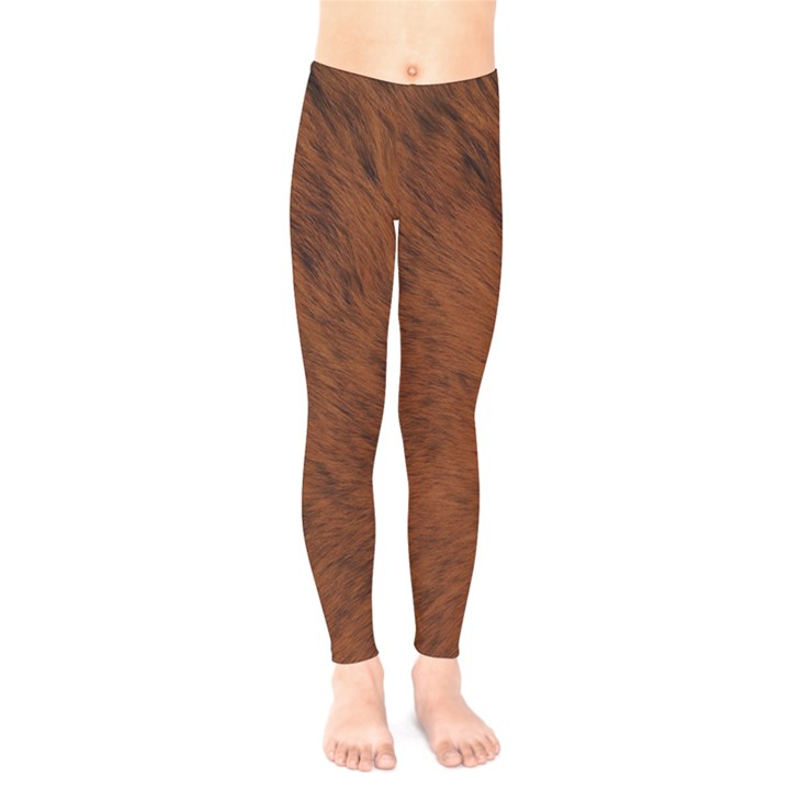 Fur Skin Bear Kids  Legging