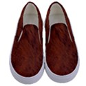 Fur Skin Bear Kids  Canvas Slip Ons View1