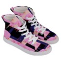 Vibrant Tropical Dot Patterns Women s Hi-Top Skate Sneakers View3