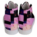 Vibrant Tropical Dot Patterns Women s Hi-Top Skate Sneakers View4