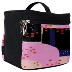 Vibrant Tropical Dot Patterns Make Up Travel Bag (big) by Vaneshart