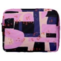 Vibrant Tropical Dot Patterns Make Up Pouch (Large) View1