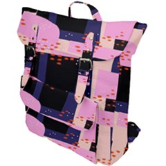 Vibrant Tropical Dot Patterns Buckle Up Backpack by Vaneshart