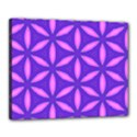 Pattern Texture Backgrounds Purple Canvas 20  x 16  (Stretched) View1