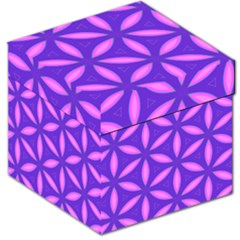 Pattern Texture Backgrounds Purple Storage Stool 12
