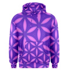 Pattern Texture Backgrounds Purple Men s Pullover Hoodie
