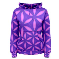 Pattern Texture Backgrounds Purple Women s Pullover Hoodie
