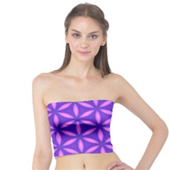 Pattern Texture Backgrounds Purple Tube Top