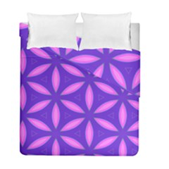 Pattern Texture Backgrounds Purple Duvet Cover Double Side (Full/ Double Size)