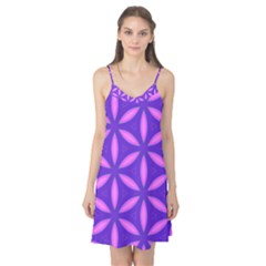 Pattern Texture Backgrounds Purple Camis Nightgown