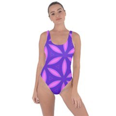 Pattern Texture Backgrounds Purple Bring Sexy Back Swimsuit