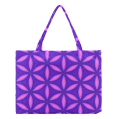 Pattern Texture Backgrounds Purple Medium Tote Bag by HermanTelo