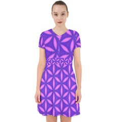 Pattern Texture Backgrounds Purple Adorable in Chiffon Dress