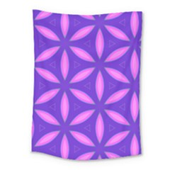Pattern Texture Backgrounds Purple Medium Tapestry